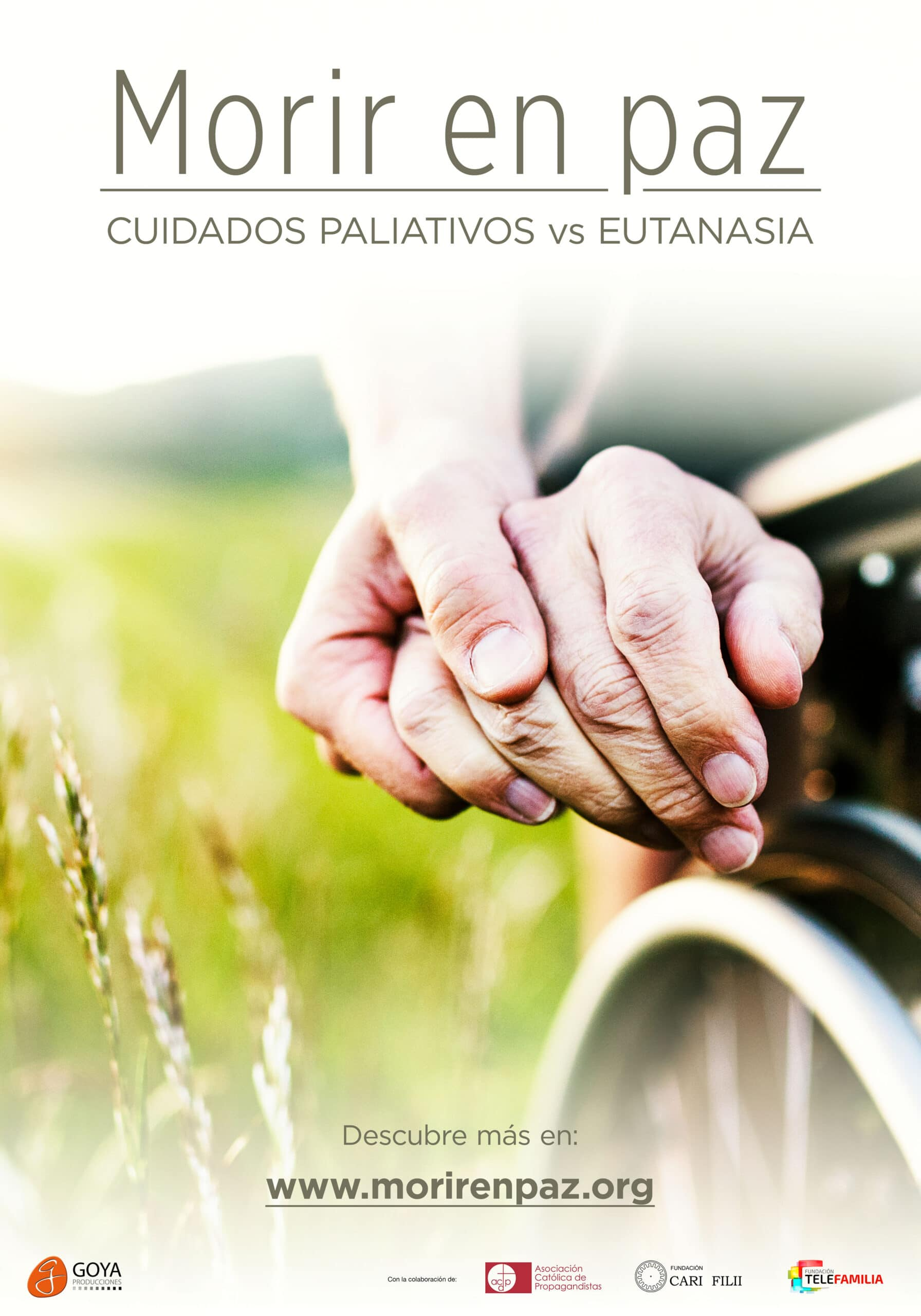 Morir en paz: Cuidados paliativos vs eutanasia